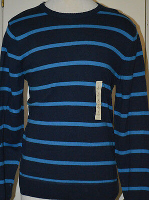 Sonoma Striped Pullover Crew Long Sleeved Tee