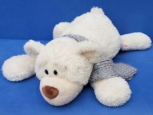 NICI-Orso-Teddy-Bear-72-CM-PELUCHE-Schlenker-morbido-orizzontale-Orsacchiotto-Sciarpa