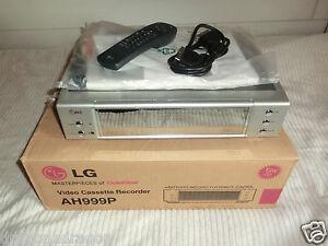 LG AH999P 6Head VHS-Videorecorder, komplett in OVP, 2 Jahre Garantie