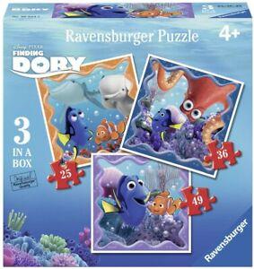 3-x-Puzzle-Enfant-Dory-Nemo-disney-pixar-25-36-49-Pieces