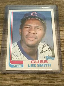 Lee Smith 1982 Topps Chicago Cubs Rookie Card #452
