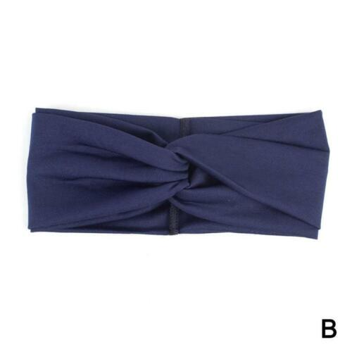 Fashion Womens Twist Stirnband Knot Wrap Turban Twisted Verknotete Haarban Heiß