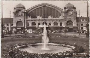 BASEL - BUNDESBAHNHOF - BASILEA - STAZIONE (SVIZZERA) 1952 - Italia - BASEL - BUNDESBAHNHOF - BASILEA - STAZIONE (SVIZZERA) 1952 - Italia