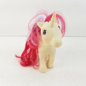 Vintage Hasbro 1983 My Little Pony G1 Moon Dancer White Unicorn Stars