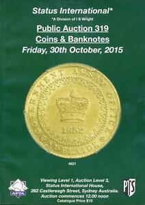 Status-International-Coins-amp-Banknotes-Auction-Catalogue-319-October-2015