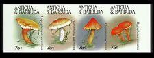 Antigua & Barbuda Champignons Poisonous Mushrooms Non Denteles Imperfs ** 1996