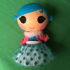 "Lalaloopsy Doll 7"" Blue Hair Button Eyes Pink Bunny Slipper Cast Girls Toy 1J72"