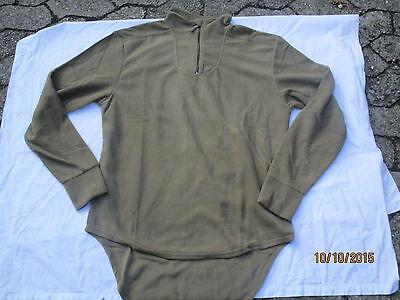 180/100,large,manches Longues Combat Undershirt Thermal,light Olive pcs,gr