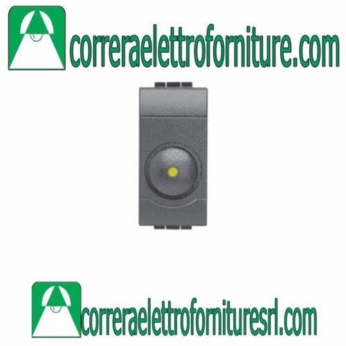 BTICINO L4406 LIVINGLIGHT antracite dimmer resistivo