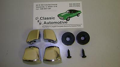 Seat Knob Kit w/ Stop Bumpers 8pc 67 68 69 Camaro Firebird Bucket knobs buckets