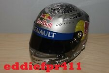 1/2 2011 SEBASTIAN VETTEL REPLICA MINI BELL HELMET RED BULL RACING RENAULT CHAMP