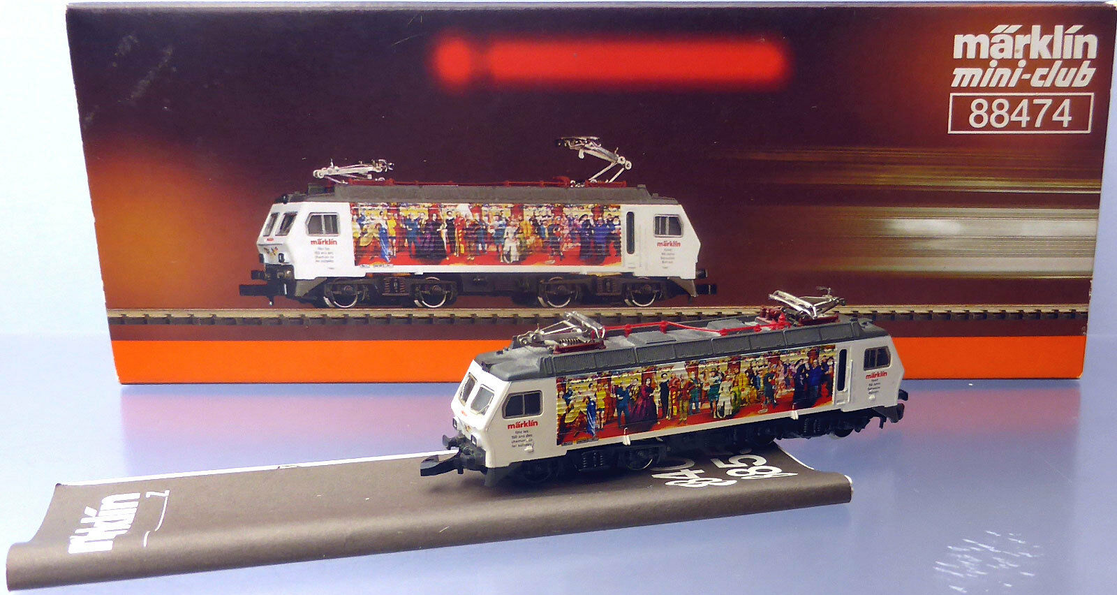 Z miniclub 88474; ELLOK 446 SBB  150j. passate svizzero  in scatola originale/h172
