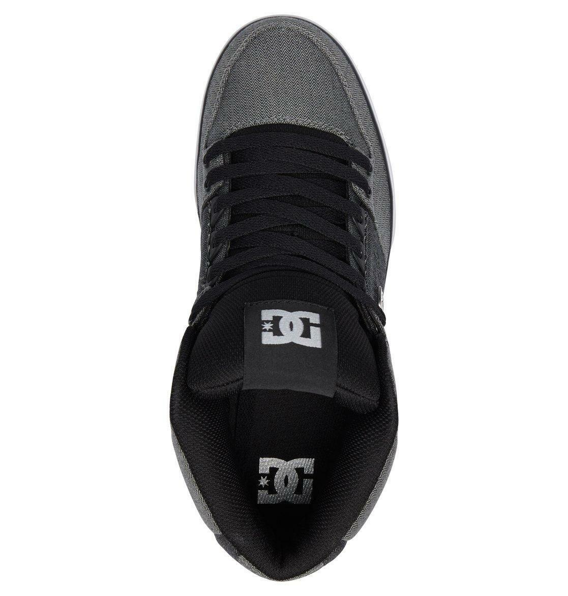 DC Schuhe PURE MENS HI TOP BOOTS.BOXED PURE Schuhe SE HIGH GREY SKATE TRAINER Schuhe 8S 46 XSW 150511