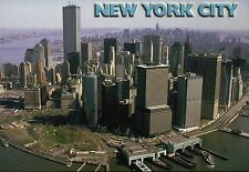 World Trade Center, The Twin Towers, New York City, NYC, Manhattan --- Postcard