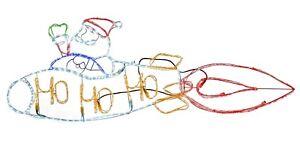 Christmas-Animated-Santa-Rocket-Decoration-Silhouette-Rope-Light-Garden-170cm