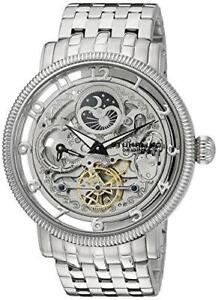 Stuhrling-411-33112-Symphony-DT-Automatic-Dual-Time-Stainless-Steel-Mens-Watch