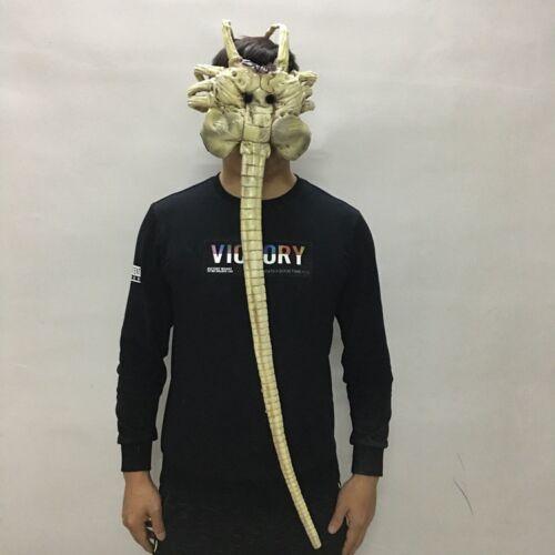 2019 Alien Facehugger Mask Latex Figure Cosplay Props Halloween Mask Adult