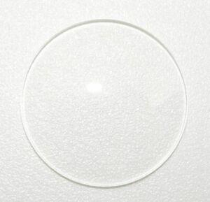 Orologio-in-vetro-cristallo-minerale-Fondo-Piatto-a-cupola-SD-1-5mm-spessore-23mm-a-50mm