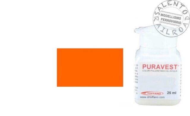 Mansour Puravest Colours 1412 Satin FS 25ml - 1156 Orange Mdve