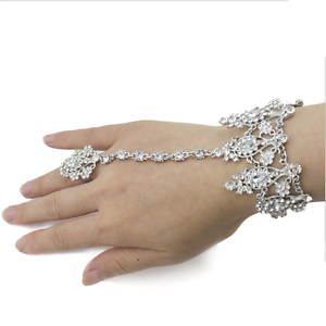V03-Clear-Austrian-Crystal-Rhinestone-Alloy-Bracelet-Ring-Bridal-Party-Prom-Gift