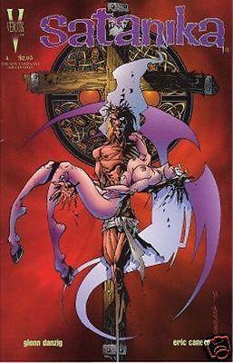 SATANIKA # 4 Fi- (Verotik, 1996) original Comic Book