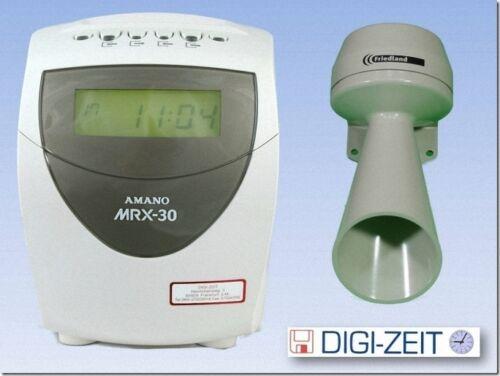 AMANO MX 300 Rechnende Stempeluhr mit  Pausenhupe NEU mit Garantie