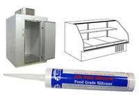 Black Food Grade Silicone Sealant - 10 Oz Cartridge