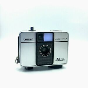 [EXC RARE] RICOH AUTO HALF And 25mm F2.8 'Classic car' CLEAN Used in Japan