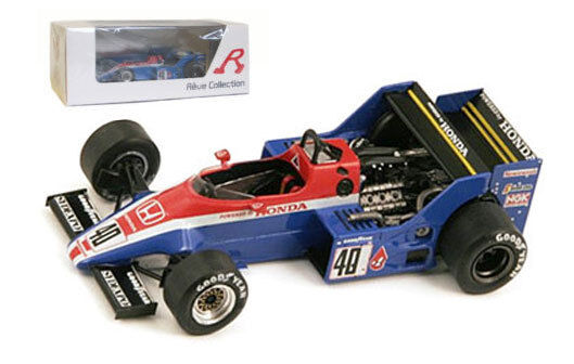 Spark Spirit Honda 201C European GP Brands Hatch 1983 - S Johansson 1 43 Scale