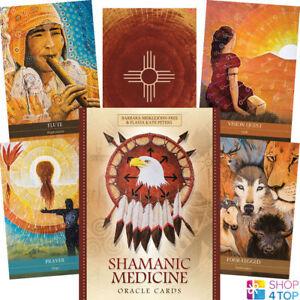 Shamanic-Medicine-Oracle-Deck-Cards-Geheimlehre-Blue-Angel-New