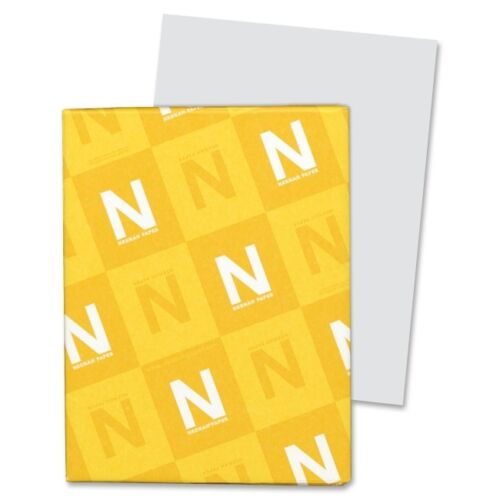 Neenah Paper Exact Index Card Stock 90 lbs 8-1//2 x 11 Gray 250 Sheets//Pack