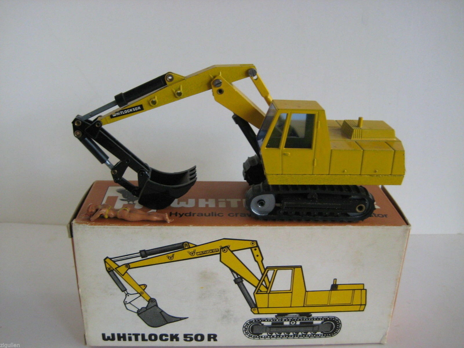 Whitlock 50 R Excavator Bucket Excavator plastikfelgen  110.2c NZG 1 50 pack