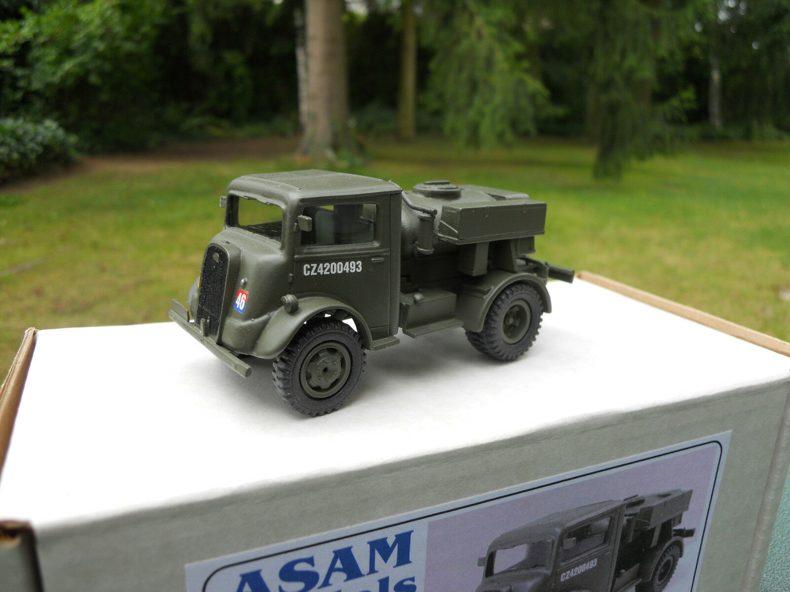 VEHICLE MILITARY ASAM MODELS REF HT 329 FORD 7V TANK WATER PITCHER MIB