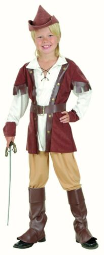Boys Robin Hood fancy dress costume Outfit Deluxe Childs World Book Day