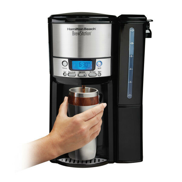 Hamilton Beach BrewStation 12 Cup Dispensing Coffeemaker with Removable Water