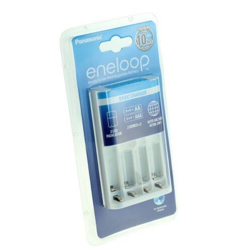 Panasonic Eneloop Ladegerät für Akku AA AAA Battery Charger Batterieladegerät