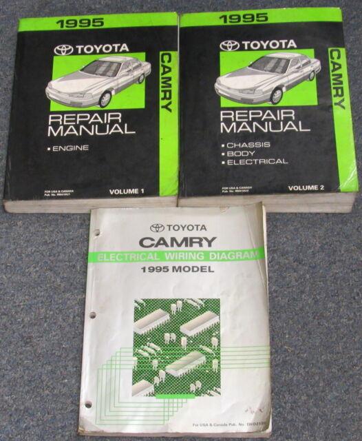 1995 Toyota Camry Service Repair Manual Set