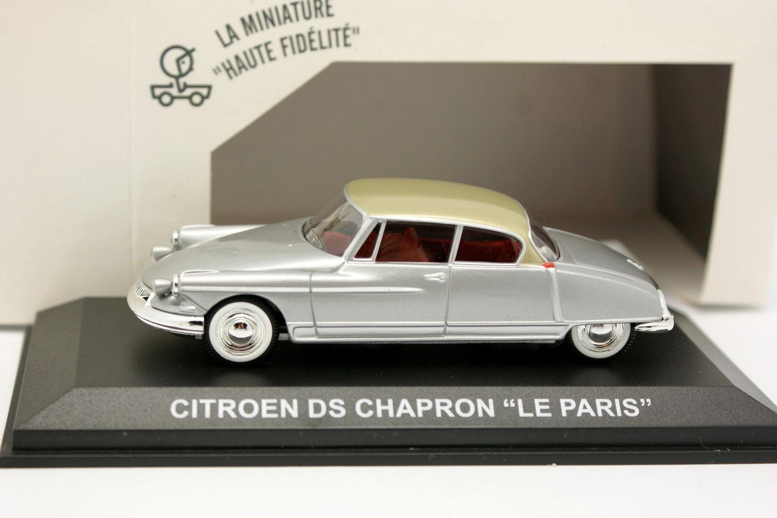Norev 1 43 - Citroen DS 19 el Chapron el París gris