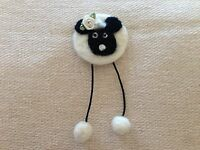 Unique needle felted handmade 'Sweet Sheep' - OOAK
