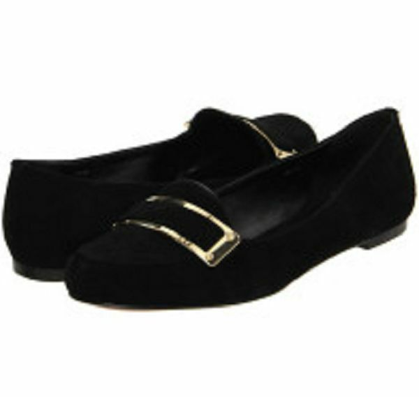 Rachel Zoe Lily Velvet Fabric Black Loafer V2050 Size 5.5 M Eur 36