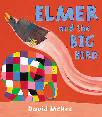 1 of 1 - Elmer and the Big Bird by David McKee (Paperback, 2013)