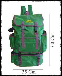Zaino verde con borsa termica grande porta canne pesca - Borsa porta canne ...