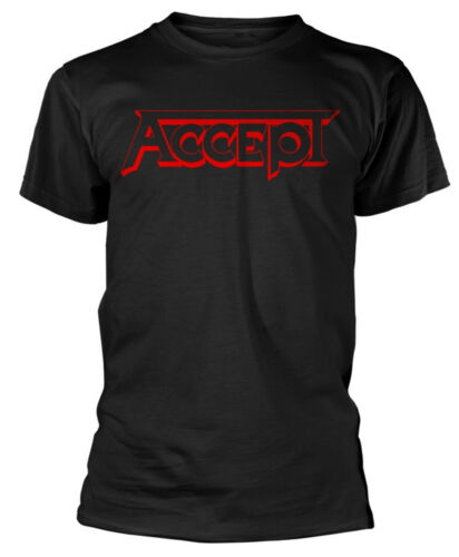 Accept /'Red Logo/' T-Shirt NEW /& OFFICIAL!
