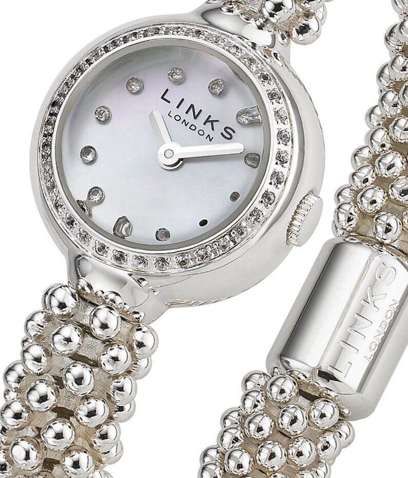 Links Of London Effervescence Star And Sapphire Bracelet Watch