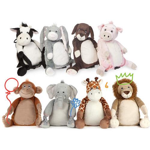 4 in 1 BOBO Buddies Buddies Buddies Zaino Accogliente Pile Coperta Cuscino Peluche Giocattolo Morbido Bambini Nuovo fa8c6b