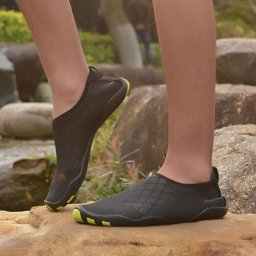 Hot Water Shoes Mens shoes the beach Swim Shoes Quick-Dry Aqua Pool Shoes Surf