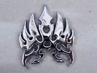 3 D Aufkleber Motiv Adler Tribal chrom Klebeschild chrome Eagle Tribe