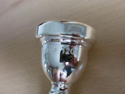 Silver Sonata SM03STB Trombone Small Shank 12C Mouthpiece