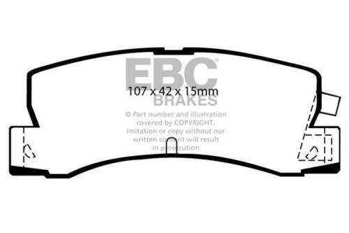 DP4629R EBC Yellowstuff Rear Brake Pads fit TOYOTA Corolla Levin