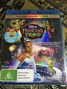 The-Princess-And-The-Frog-Blu-ray-amp-DVD-2-Disc-Set-Brand-NEW-FREE-POST